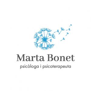 Disseny imatge corporativa - Logo - Marta Bonet